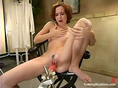 Petite AnnaBelle Lee gets her wet pussy toyed hard