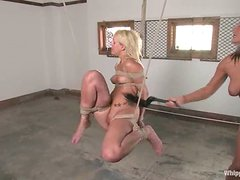 Kacey Villainess gets spanked and humiliated in a classroom