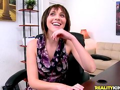 MILF Nickey Huntsman Banging Cock Hard In The Office