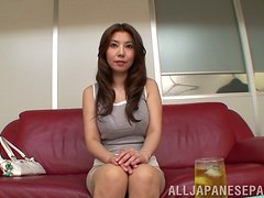 Playing with Sakiko Mihara's Big Juicy Boobs and Sweet Pussy