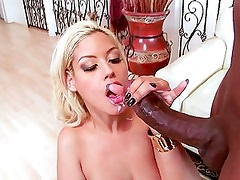 blond whore take BBC in her ass