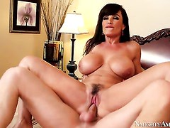 Danny Wylde gets pleasure from fucking lustful Lisa Anns slit