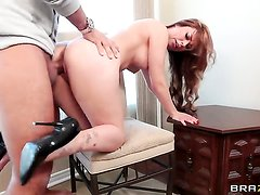 Keiran Lee uses his sturdy rod to