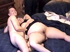 Fabulous Wife Goes Hardcore With Her Horny Loves In A Homemade Video