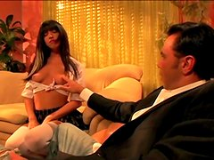 Adorable Roxy Deville Goes Hardcore With A Kinky Dude