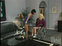 A Trainer Fucks His Client Doggystyle in the Gym