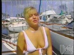 Wild Group Sex Outdoors on a Yacht at Sea