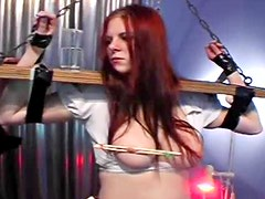 Redhead baroness wants to try unforgettable fetish sex