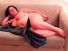 Renate Zug  is a super ugly BBW milf which loves masturbating