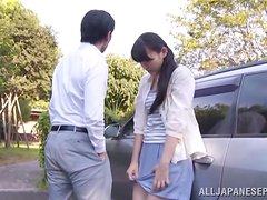 Sex on the parking lot is what Japanese loves