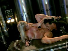 Sizzling Ahryan Astyn has a wild sex in a boiler room