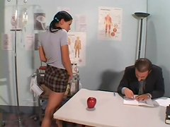 Tasty Kim Gets Fucked By Mr.Andersen In A Classroom