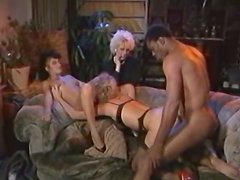 Lucky black gets his dick sucked guy and the orgy party