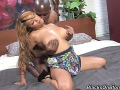 Adorable Baylee Lee Has Interracial Sex With A Black Man
