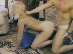 Kinky and sexy blonde with awesome ass gets fucked hard