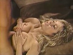 Horny and kinky blonde with nice body gets a titfuck