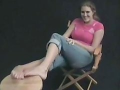 Long toes sabrina fox feet