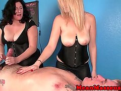 Bigtit cbt mistress ruins her clients orgasm