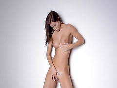 Sexy dance and strip of smart babe