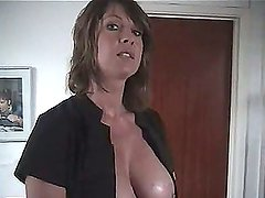 Milf talks to you about her massage service