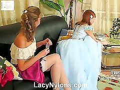 Alice&Alina hardcore nylon movie