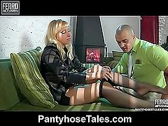 Janet&Nicholas kinky pantyhose movie