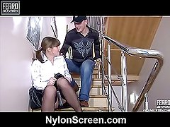 Gloria&Connor naughty nylon movie