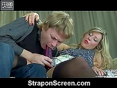 Nora&Silvester great strapon video