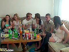 Hot college fucking with Czech chicks,part 2