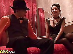 Hawt sex party in retro style,part two