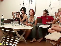 Student sex allies party all night lengthy,part 1