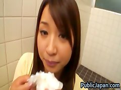 Buruma Aoi Lovely young Japanese sucking part3