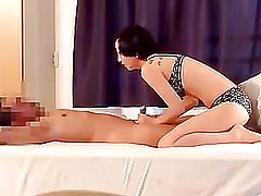 Oriental GF plays fair in fucking menacing-fearsome two