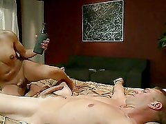 TS Seduction:TS Foxxy Eats Her Stud