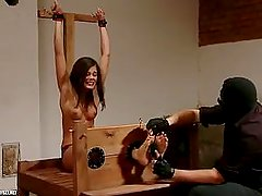 Czech Tickling. Caprice Tortured.
