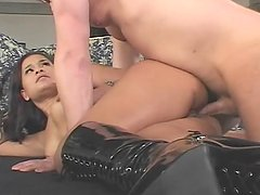 Latina Chick With Round-Booty Gets Butt-Fucked - CRITICAL X