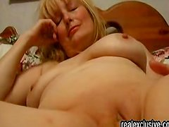 Fingering my 53 years old wife to an orgasm