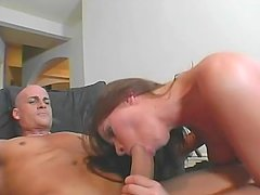 Brunette Tastes Her Ass Off Huge-Cock - CRITICAL X