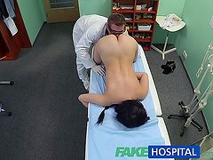 FakeHospital Sexy patient likes it from behind with her new doctor