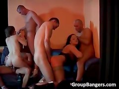 Hot and steamy group sex party part4