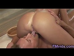 Cute milf Diana Doll gives amazing masssage
