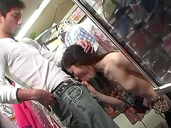 blowjob fun while shopping - Dreamroom Productions