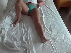 HIDDEN CAM IN HOTEL ROOM CAUGHT MASTURBATION