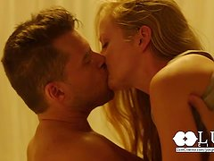 LUST CINEMA Sensual Couple in torrid intercourse
