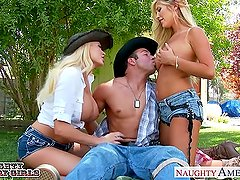 Summer Brielle and Tasha Reign in threesome