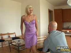 Melissa Is A Horny Blonde With A Great Taste For Hardcore Sex