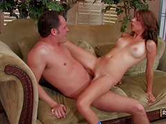Allyssa Hall asks the Janitor to unclog her inner pipe!