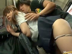 Dirty Public Bus Sex With a Schoolgirl