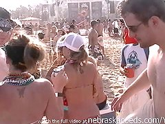 largest beach party in the world real girls flashing pussy and tits on south padre beach texas