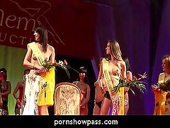 Porn show topless girl pageant